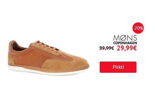 Rudi vyriški laisvalaikio batai MONS